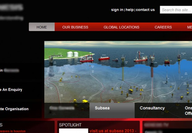 SharePoint Website – Oil and Gas Consultancy