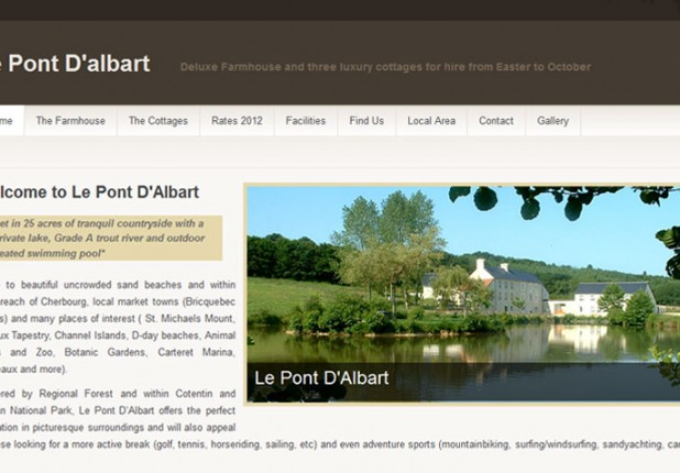 Le Pont D'Albart – WordPress