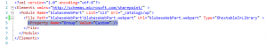 SharePoint Web Part Elements xml