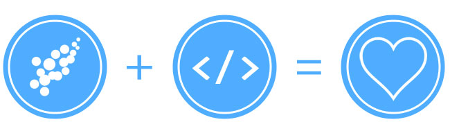 design + code = love