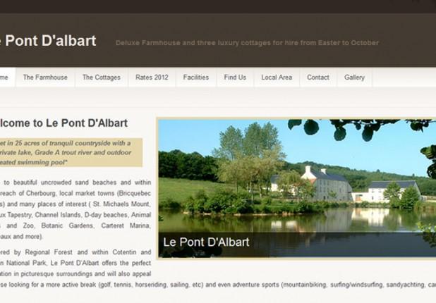 Le Pont D'Albart – WordPress